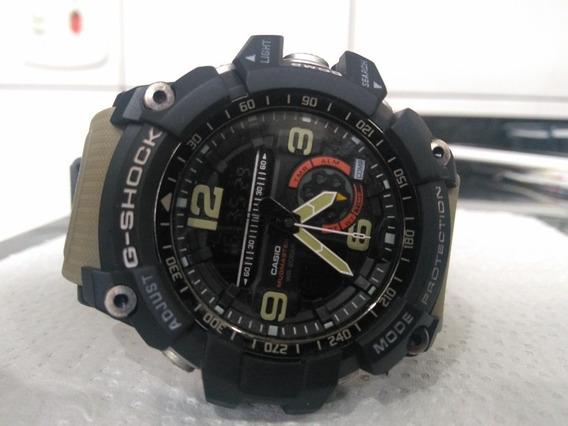 Relógio G Shock Mudmaster Bege