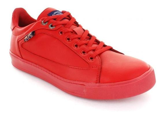 Tenis Para Hombre Pepe Jeans Wayne-035809 Color Rojo