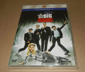 Big Bang Theory Temporada 4 Contiene 3 Dvds