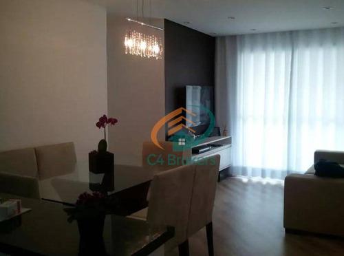 Imagem 1 de 20 de Apartamento À Venda, 63 M² Por R$ 360.000,00 - Ponte Grande - Guarulhos/sp - Ap1644