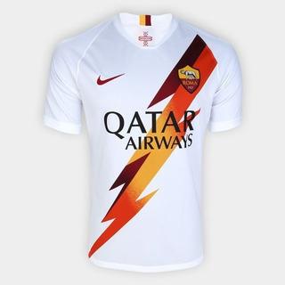 Camisa Roma Away 19/20 S/nº Torcedor Nike Unissex