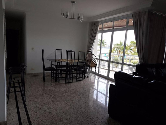 Lindo Apartamento 03 Dormitórios Frente Ao Mar Em Caraguatatuba - Ap0050