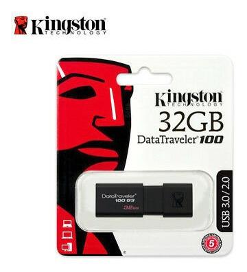 Pendrive Kingston Digital 32gb Dt100 G3 Usb 3.0/3.1/2.0