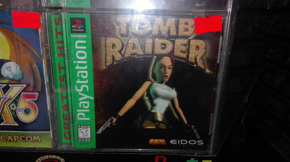 Tomb Raider Completo Para Play Station 1,excelente Titulo.