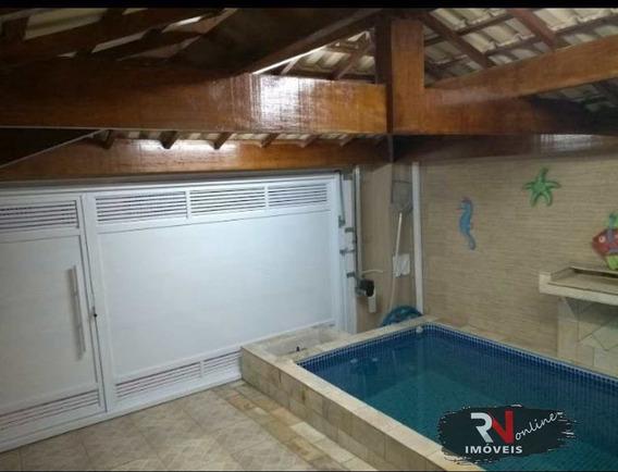 Casa Com 2 Dorms, Real, Praia Grande - R$ 300 Mil, Cod: 1037 - V1037