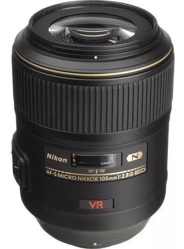 Lente Nikon Macro 105mm 2.8g Ed