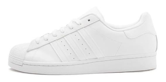 Tenis adidas Superstar Branco White Clássico Original Oferta