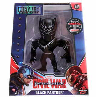 Metals Die Cast Muñeco De Metal Black Panther Jada Devoto