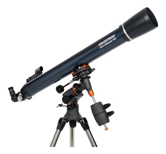 Telescopio Celestron Astromaster 80eq-md Refractor Mvd Sport