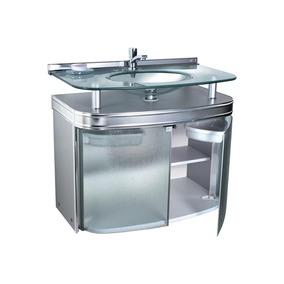 Gabinete Para Banheiro Com Cuba De Embutir Master 80x47,5cm