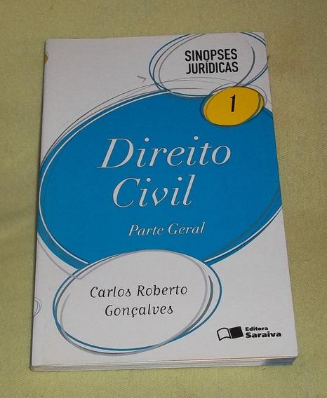 Direito Civil - Parte Geral - Vol 1 - Sinopses Jurídicas