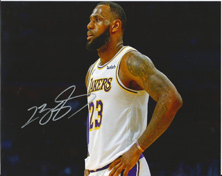 Autógrafo Lebron James Certificado
