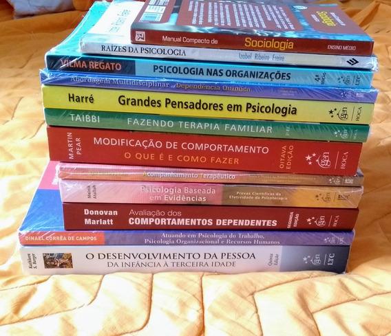 Livros De Psicologia ( Valores Na Descrição )