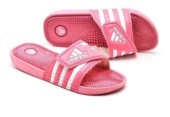 Chinela adidas Adissage Rosa -