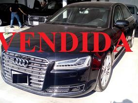 Audi A8 W12 2015 Color Negro Blindado Nivel Iv Plus