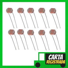 10 Peças De Ldr 5mm Fotoresistor Sensor De Luz - Carta Regis