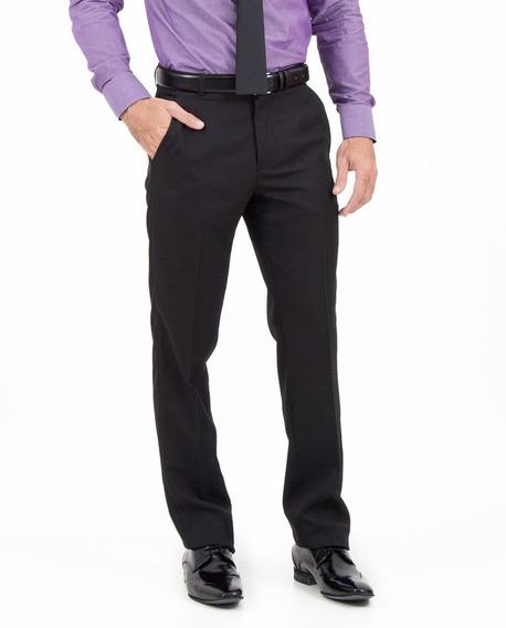 Calça Social Masculina Tamanho Especial Em Oxford Plus Size