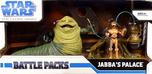 Star Wars Clone Wars Jabba The Hutt Battle Pack