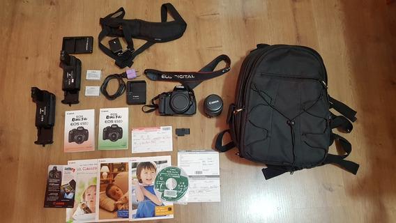 Canon T4i 650d Japonesa + Grip Canon Bg-e8 + Acessórios