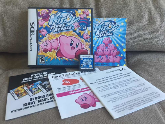 Kirby Mass Attack Ds - Nintendo Ds