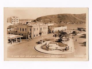 Cartao Postal Fotografico Cabo Frio Rj P Dom Pedro Anos 50