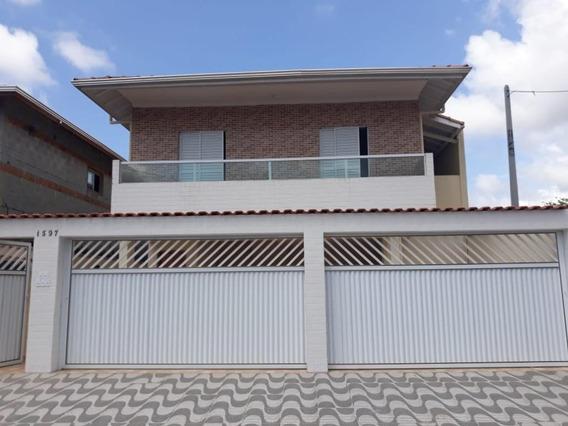 Casa Em Samambaia, Praia Grande/sp De 0m² 2 Quartos À Venda Por R$ 160.000,00 - Ca345876