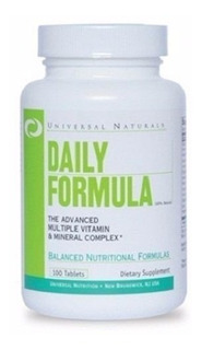 Daily Formula - (100 Tabletes) - Universal Nutrition