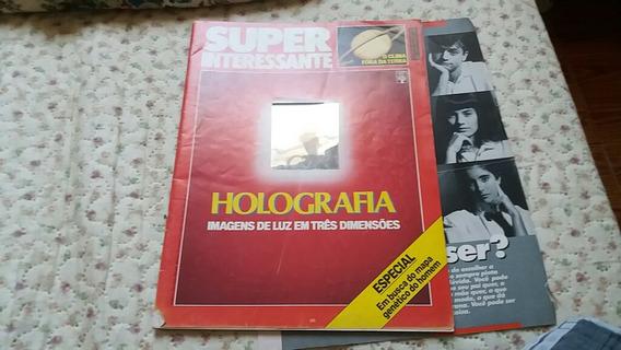 Revista Super Interessante Junho 1988 Holografia