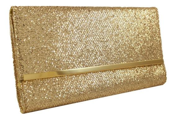 Cartera Sobre Glitter Importados