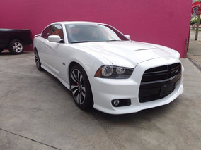 Dodge Charger Srt-8 5 Vel Piel Qc R20 At 2013 Blanco