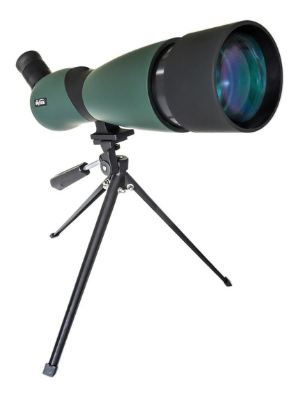 Luneta Predator Terrestre 70mm Skylife 25x70 + Tripe Metal Spotting Scope Tiro Telescópio Alto Padrão