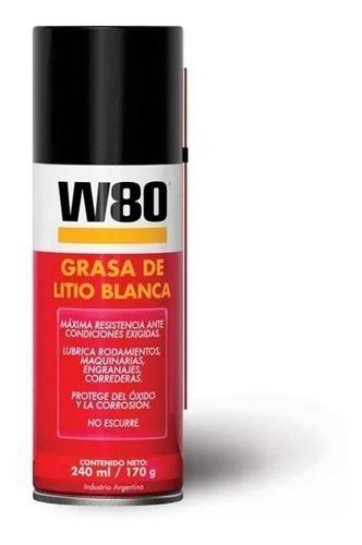 W80 Grasa De Litio Blanca 173gr 240ml (500022)