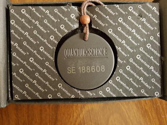 Colar Medalhão Quântico/ Quantum Pendant Original
