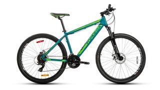 Bicicleta Mtb Topmega Zesty 27.5 21v + Linga + Led Fas