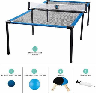 Mesa De Ping Pong Portátil Incluye 2 Raquetas Y 2 Pelotas