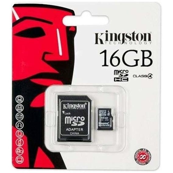 Cartões De Memória 16 Gb Kingston Sandisk Originais Lacrados