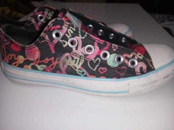 Zapatillas Converse Originales 37.5 Para Mujer (usadas)