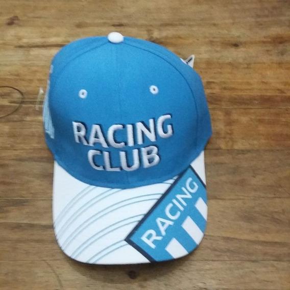 Gorra Con Visera De Racing Club El Primer Grande Original