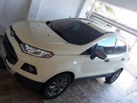Ford Ecosport Freestyle 1.6 16v, Bancos De Couro, Aro 16