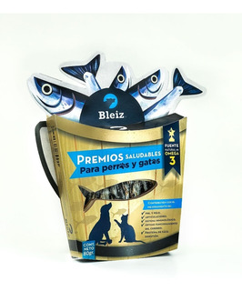 5 Paquetes Premios Anchovetas 100 Grs C/u. P/perros Y Gatos. Con Acidos Grasos Omega 3 Para Piel, Pelo Y Sistema Inmune