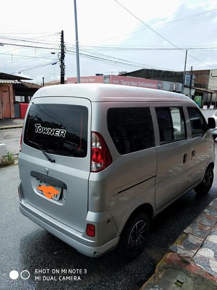 Minivan Hafei Towner 1.0 8 Lugares, Super Econômica