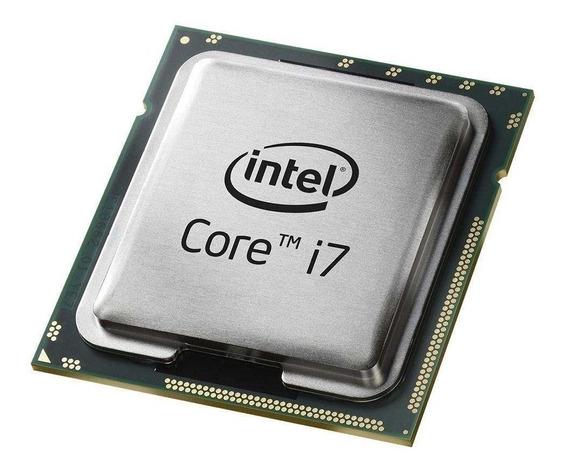 Processador gamer Intel Core i7-3770 BX80637I73770 de 4 núcleos e 3.9GHz de frequência com gráfica integrada