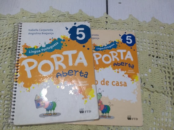 Livro Português Porta Aberta 5ano