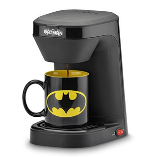Cafetera De Batman Con Taza Importada