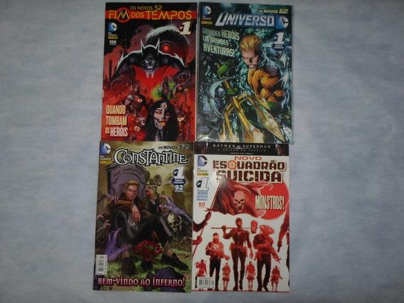 Lote 4 Hqs Fim Dos Tempos 1 Universo Dc 1 Constantine 1 Esq