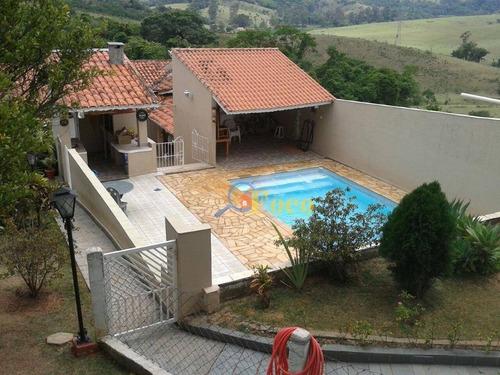 Chácara Com 5 Dormitórios À Venda, 1000 M² Por R$ 1.010.000,00 - Jardim Leonor - Itatiba/sp - Ch0167