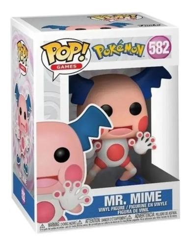 Boneco Funko Pop! Pokémon - Mr. Mime