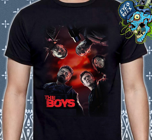 The Boys 1 - Poster - Series - Polera- Cyco Records
