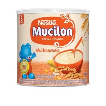 Mucilon Multicereais 400g Nestlé - Kit 8 Unidades