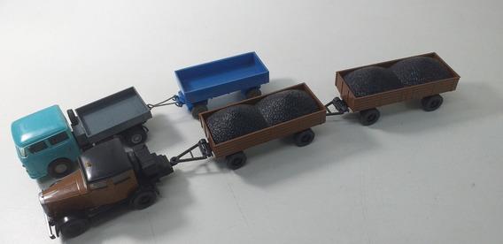 2 Caminhões Miniaturas Wiking Usados Ho 1/87 Importados